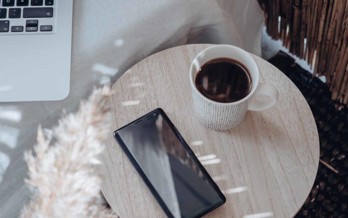 kahvitauko mobiililaite